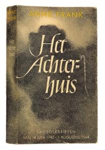 Prima ediţie a Jurnalului lui Annie Frank