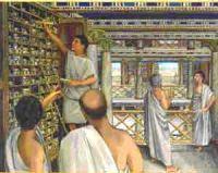 biblioteca-din-alexandria-papirusuri